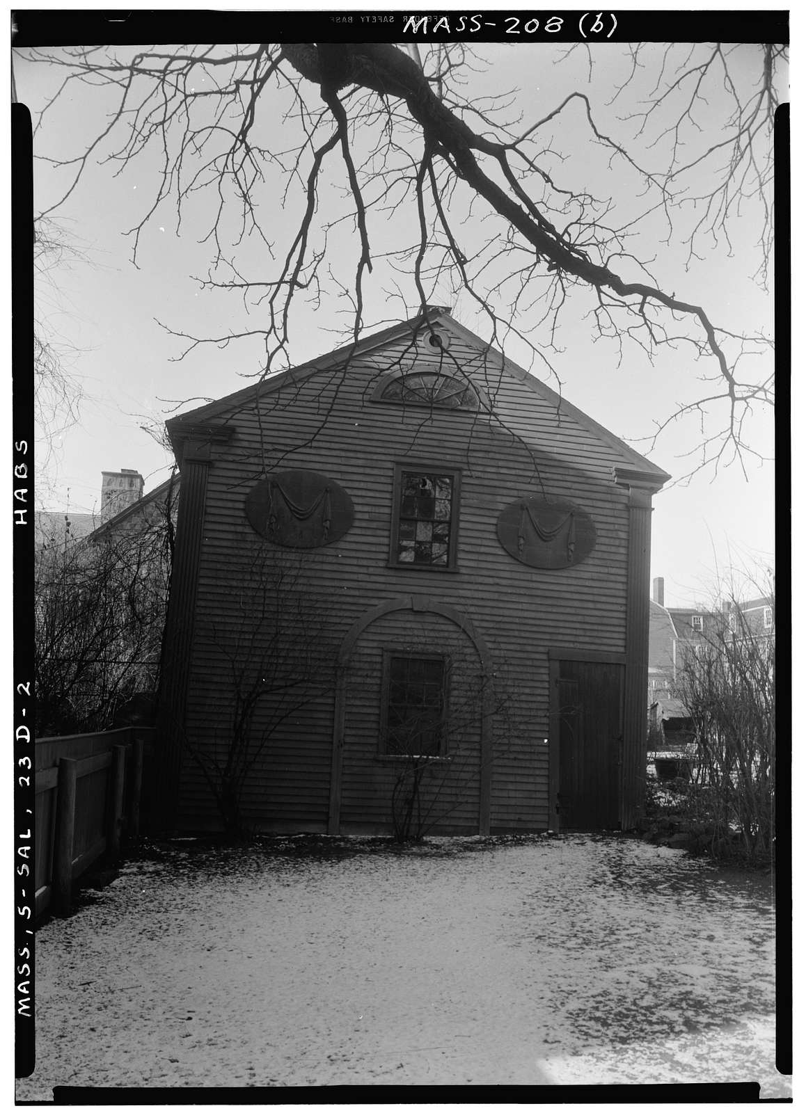 John Robinson Stable, 18 Summer Street, Salem, Essex County, MA