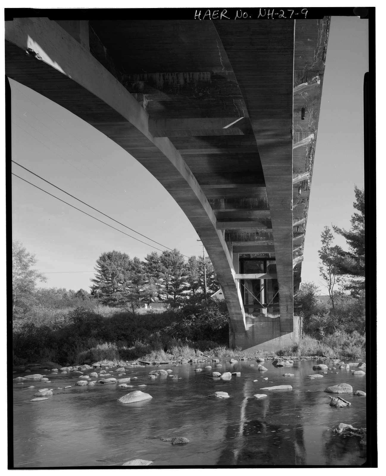 Kelleyville Bridge, Spanning Sugar River at State Route11/103, Newport, Sullivan County, NH