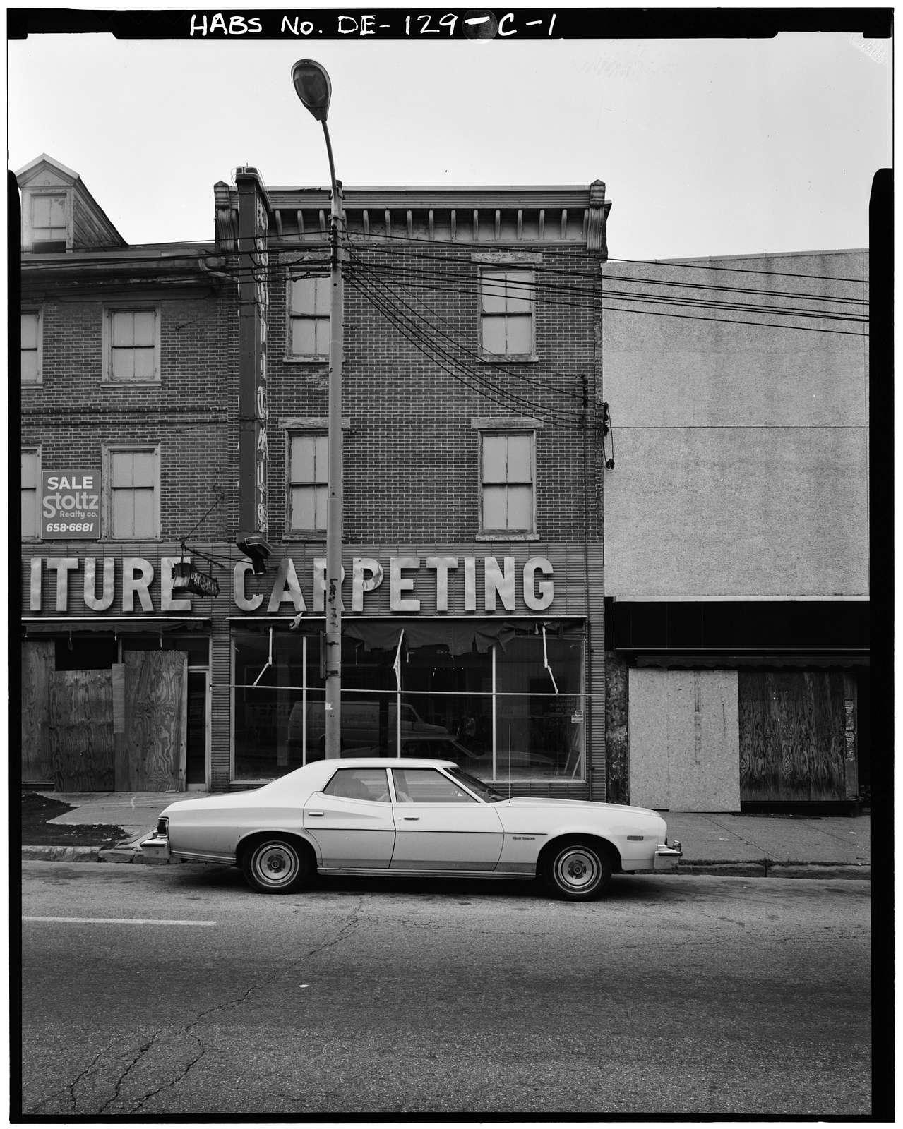 King Street, 200 Block, 232 King Street (Commercial Building), Wilmington, New Castle County, DE