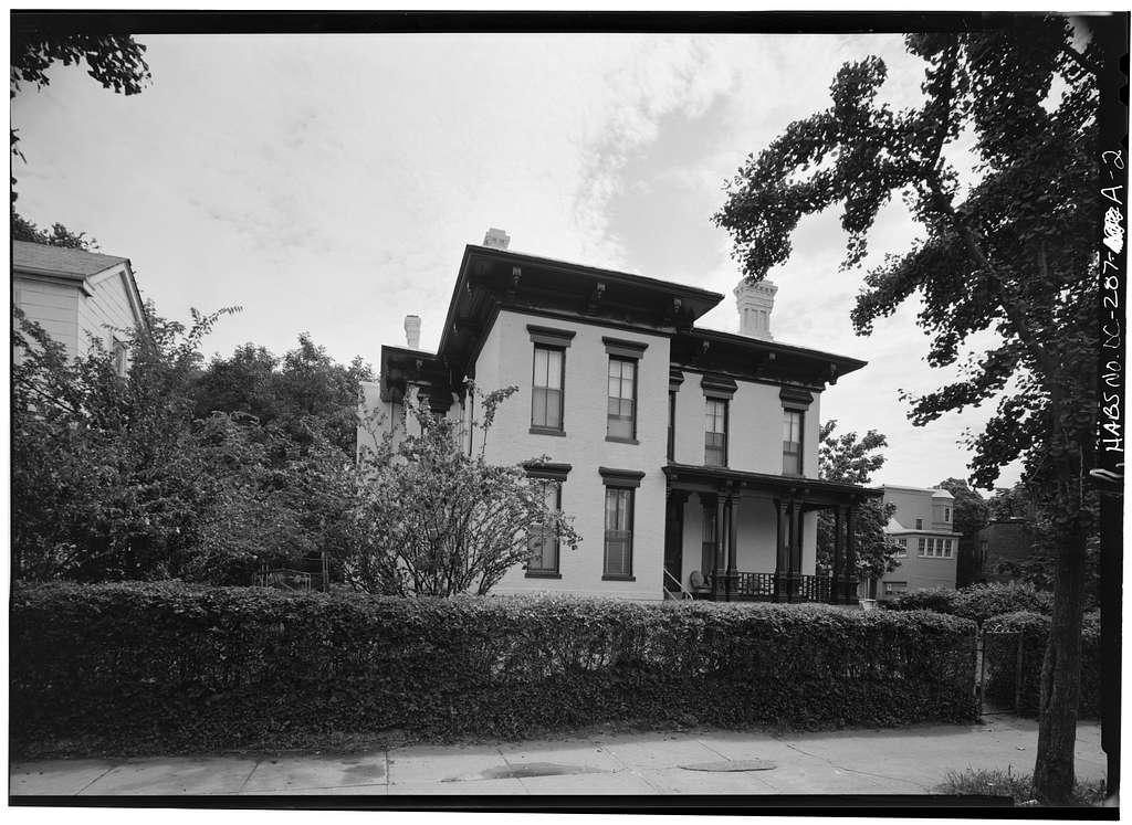 Le Droit Park, 1901 Sixth Street, Northwest (House), Washington, District of Columbia, DC
