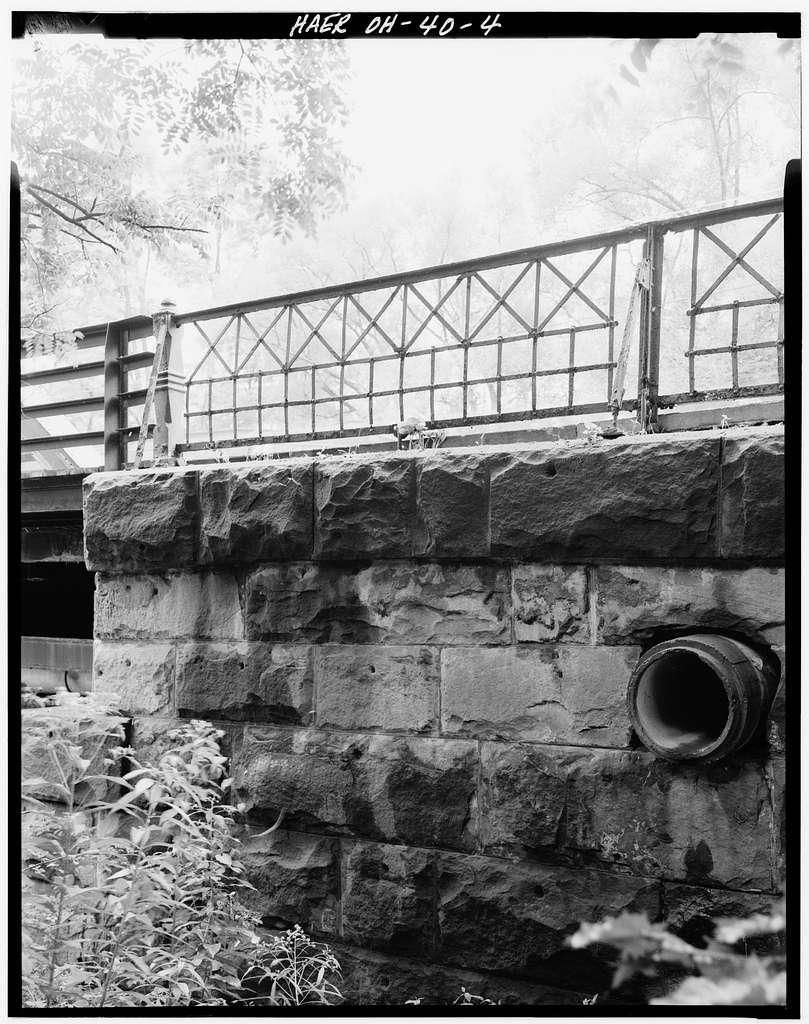 Main Street Parker Pony Truss Bridge, Main Street (Route 170) spanning Yellow Creek, Poland, Mahoning County, OH
