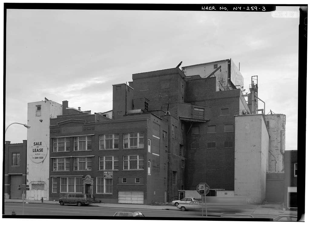 Meyer Malting Grain Elevator, 1314 Niagara Street, Buffalo, Erie County, NY