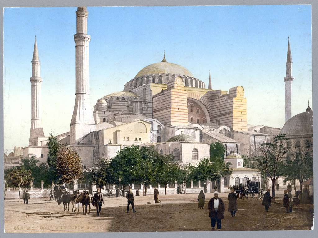 [Mosque of St. Sophia, Constantinople, Turkey]