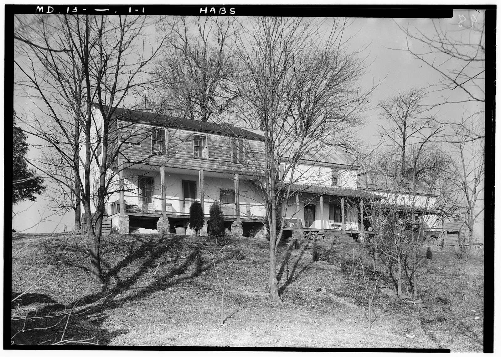 Mountain Road (Farmhouse), Stockton, Harford County, MD
