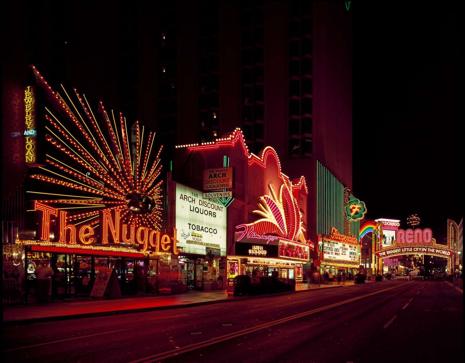 Neon, Reno, Nevada