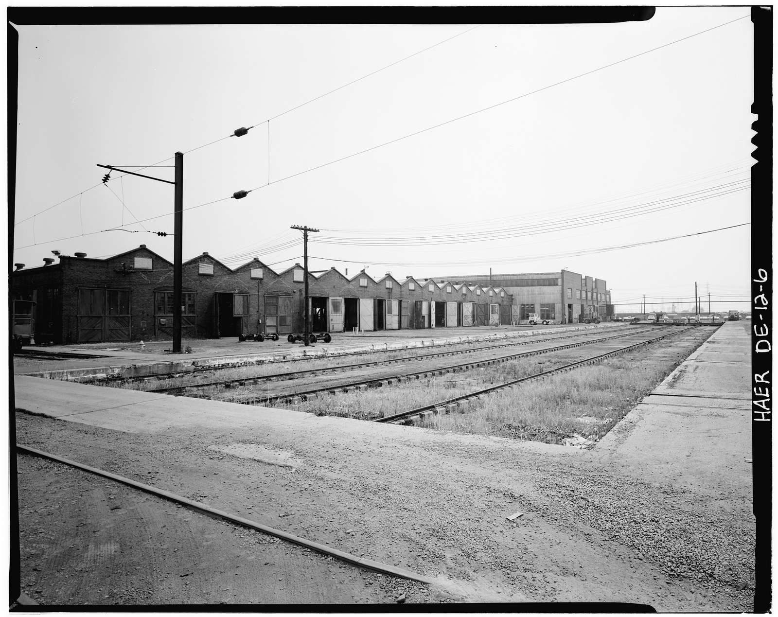 Pennsylvania Railroad Improvements, Repair Shop, Vandever & Bowers Streets, Wilmington, New Castle County, DE