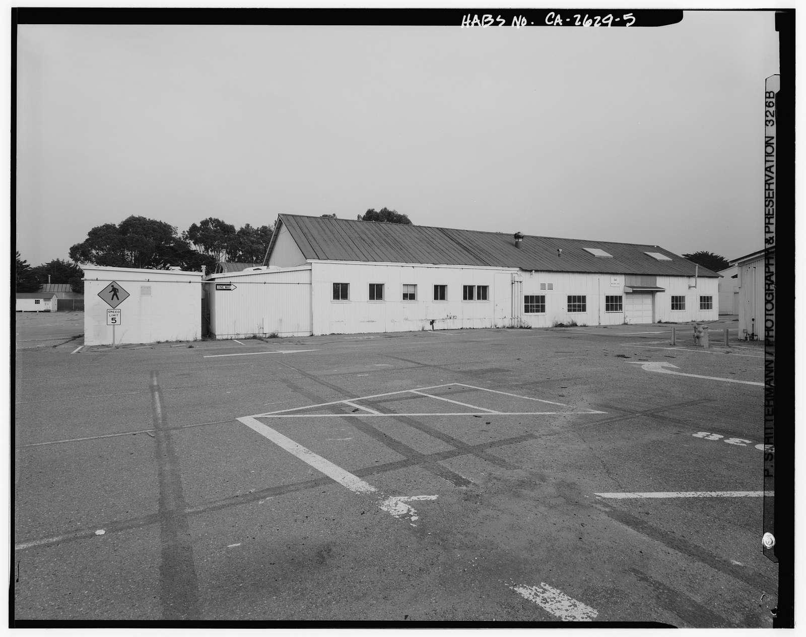 Presidio of San Francisco, Warehouse & Auto Shop, Crissy Field North cantonment, San Francisco, San Francisco County, CA