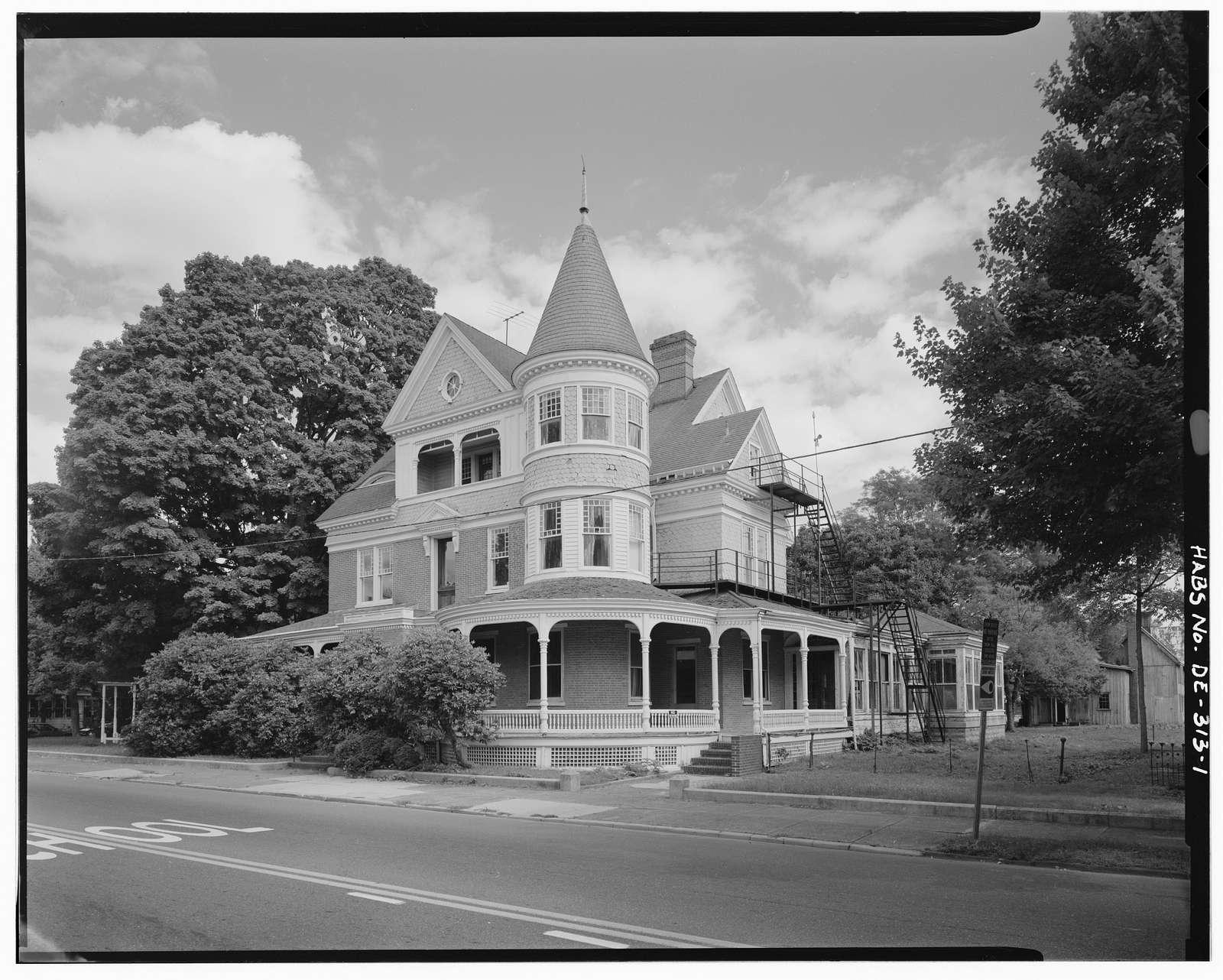 Richardson Hall, East Dover Hundred, 29 North State Street, Dover, Kent County, DE