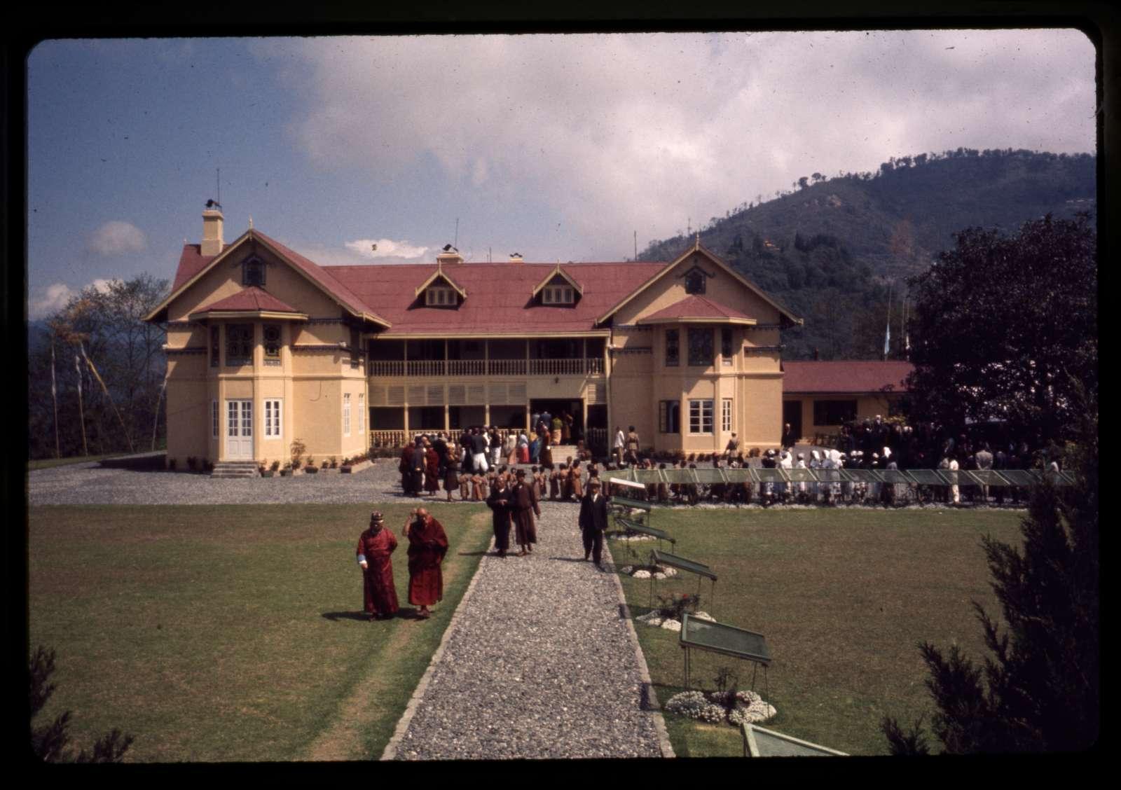 [Royal procession for Chogyal's birthday, Royal Palace, Gangtok, Sikkim]