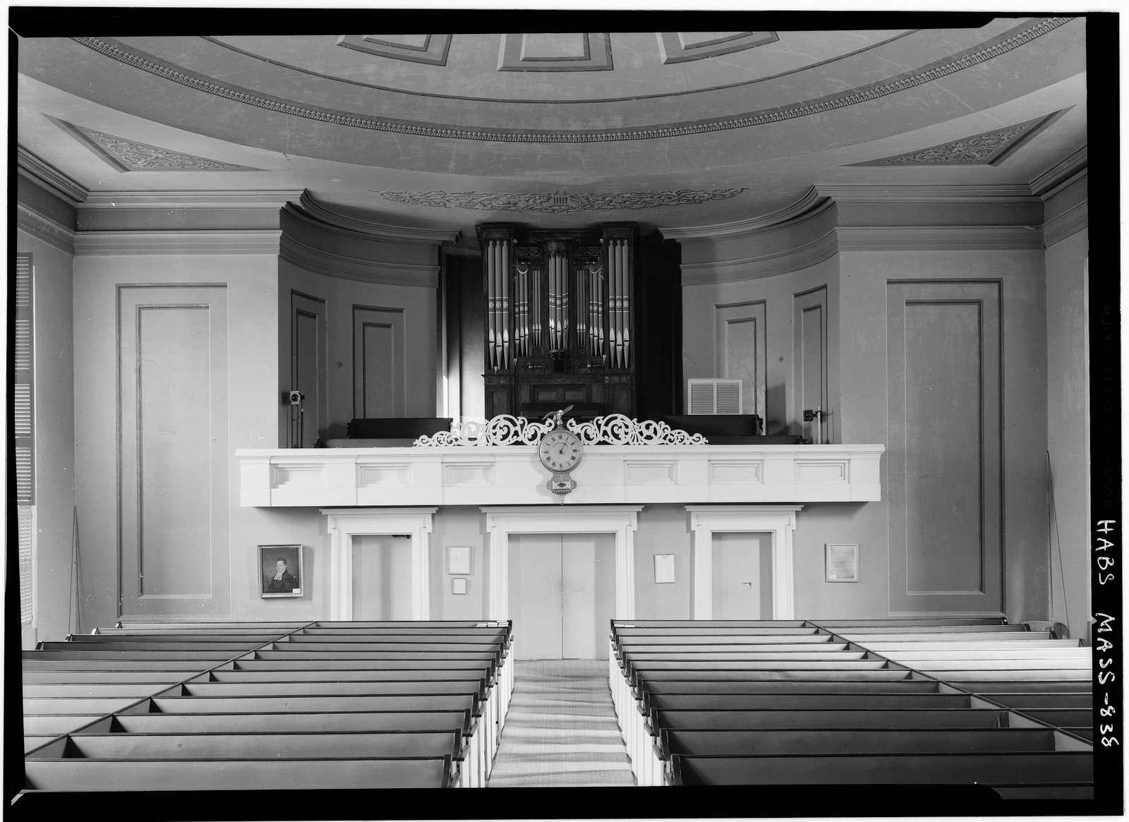 Second Congregational Meetinghouse Society Church, Orange Street, Nantucket, Nantucket County, MA