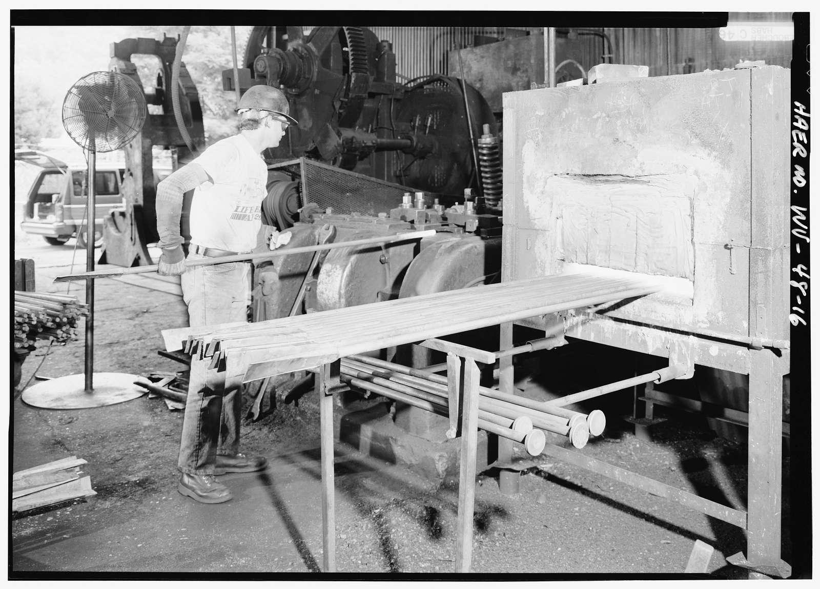 Warwood Tool Company, Foot of Nineteenth Street, Wheeling, Ohio County, WV