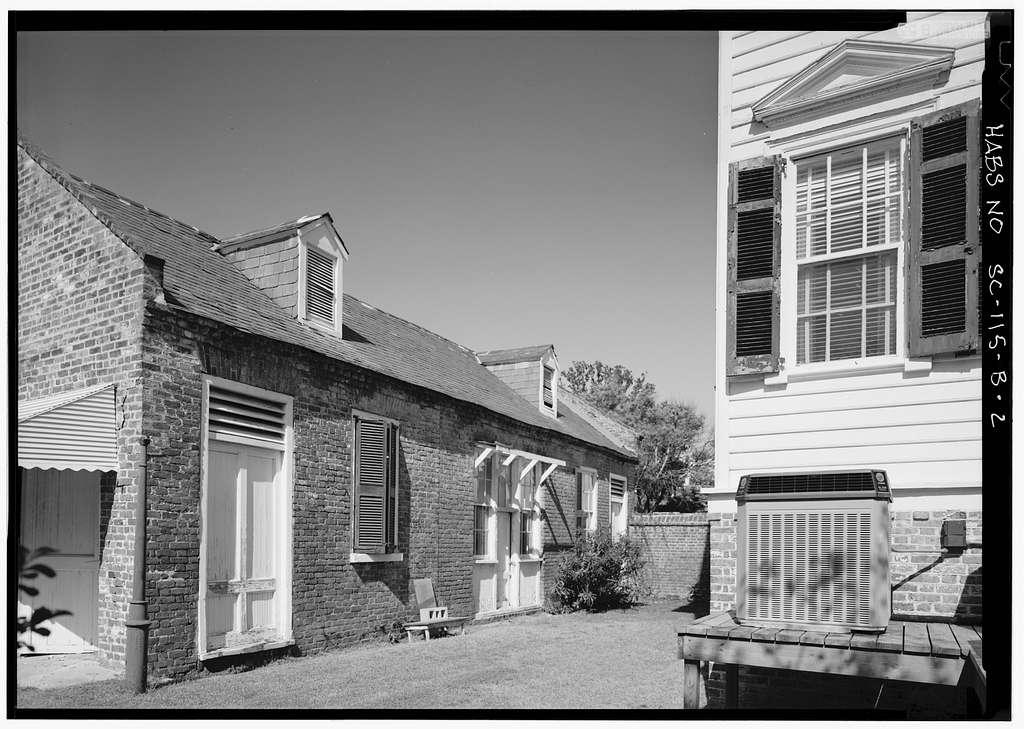 Wiliam Washington House, Carriage House, 8 South Battery Street, Charleston, Charleston County, SC