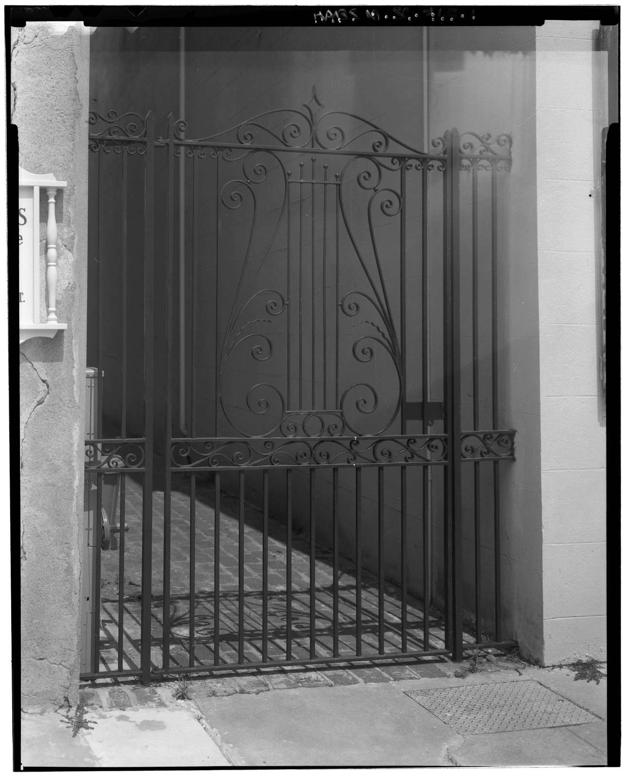 12 State Street (Gate), Charleston, Charleston County, SC