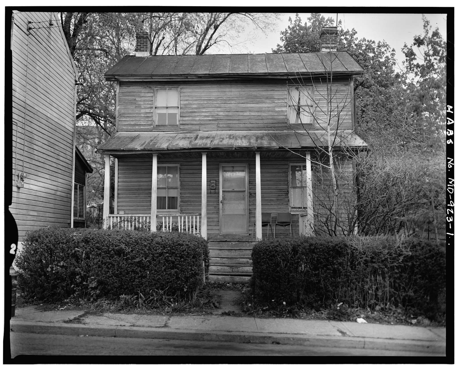 29 1/2 Union Street (House), Westminster, Carroll County, MD