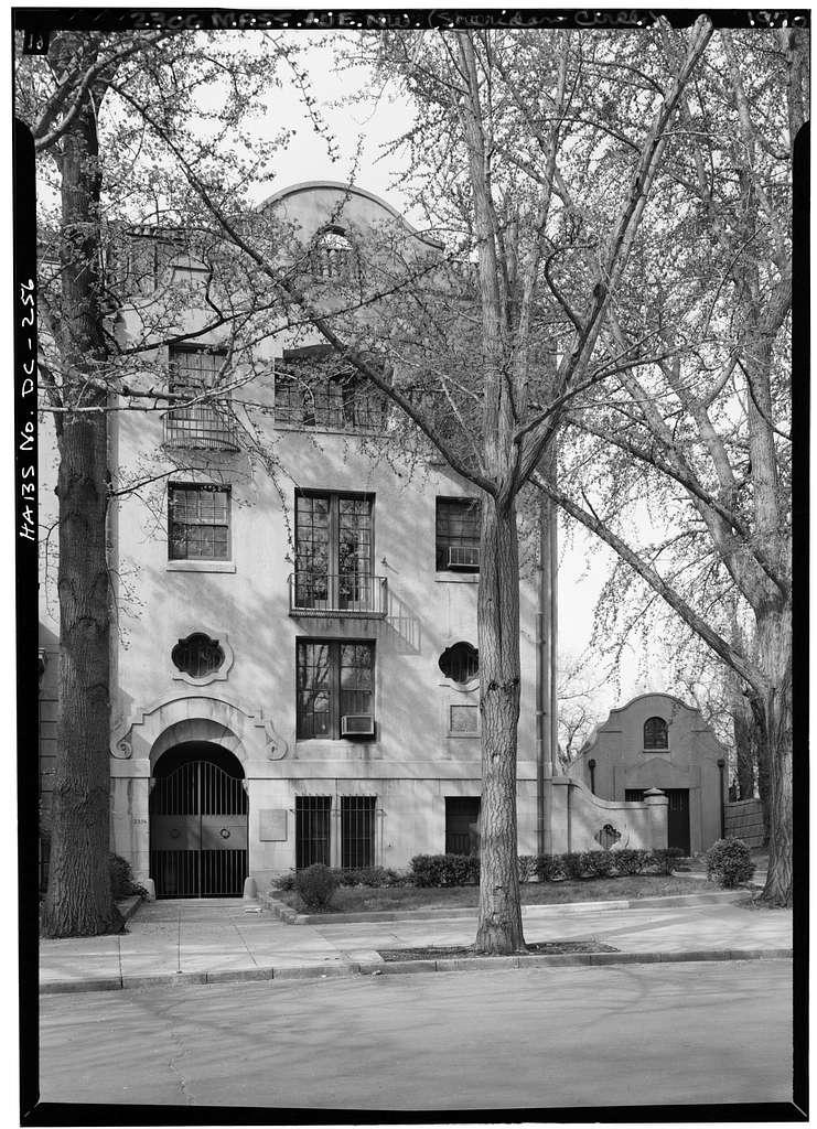 Alice Pike Barney Studio House, 2306 Massachusetts Avenue Northwest, Washington, District of Columbia, DC