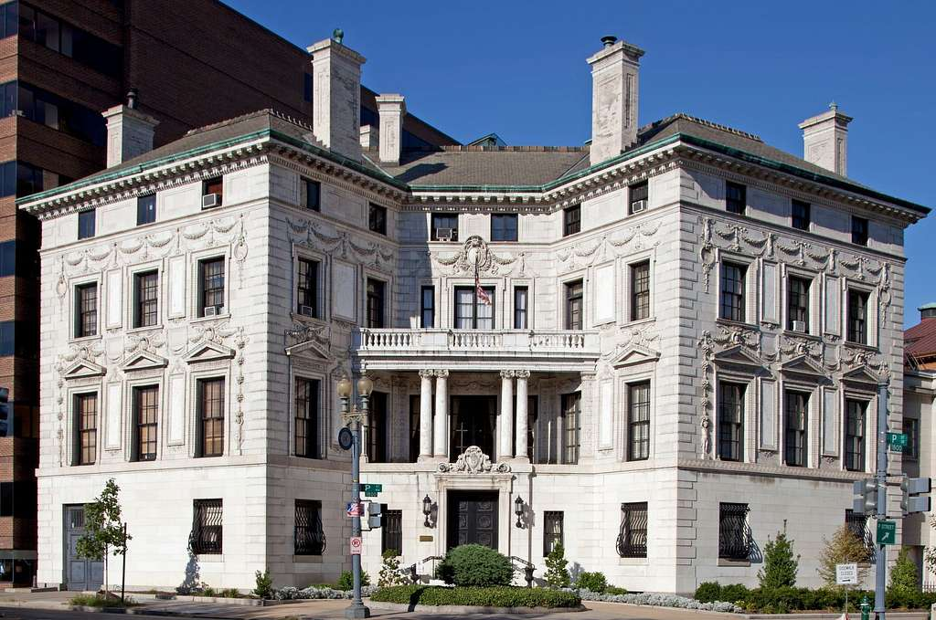 Building known as the Patterson House, 15 Dupont Circle, NW, Washington, D.C.
