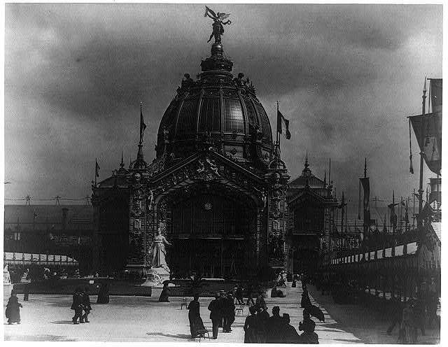 [Central Dome, Paris Exposition, 1889]