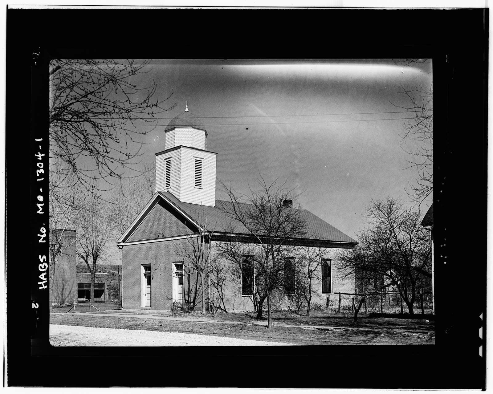Christian Church, Rocheport, Boone County, MO
