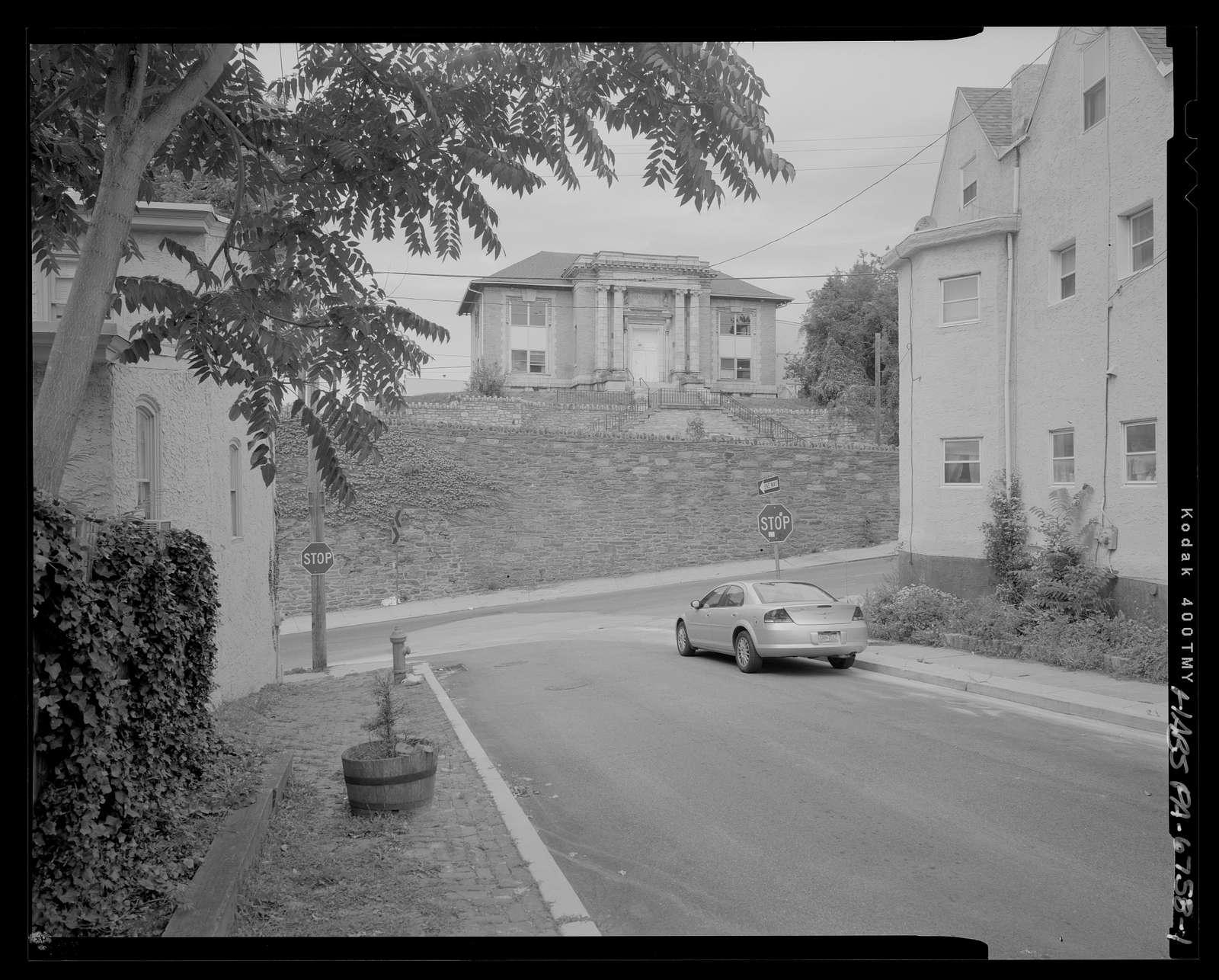Free Library of Philadelphia, Manayunk Branch, Fleming and Dupont Streets, Philadelphia, Philadelphia County, PA
