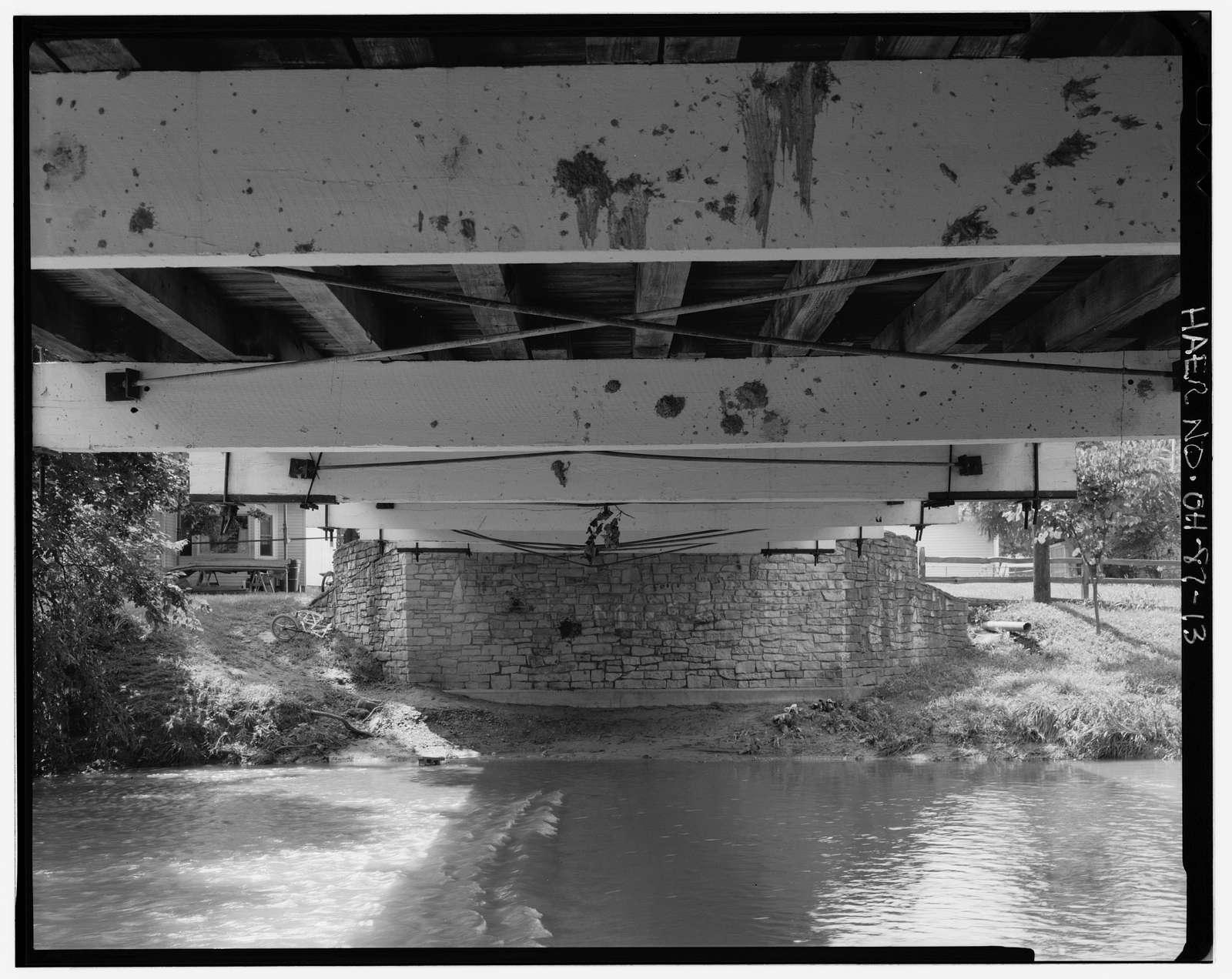 Germantown Covered Bridge, Center Street spanning Little Twin Creek, Germantown, Montgomery County, OH
