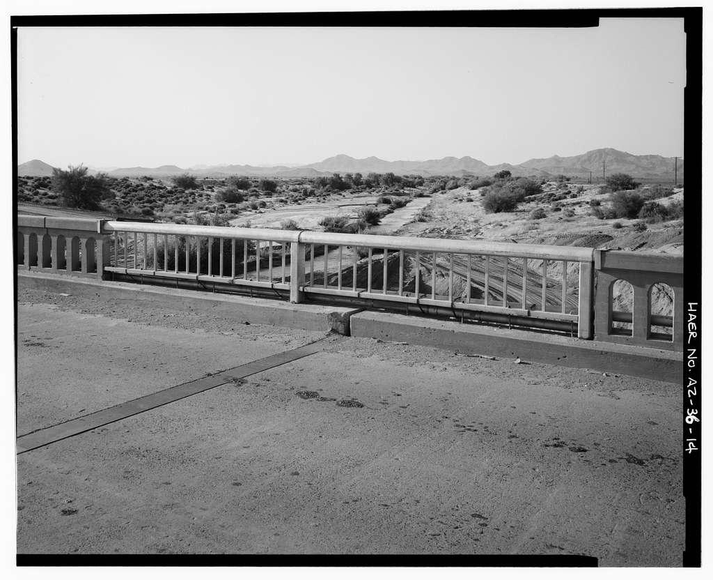 Hassayampa Bridge, Spanning Hassayampa River at old U.S. Highway 80, Arlington, Maricopa County, AZ