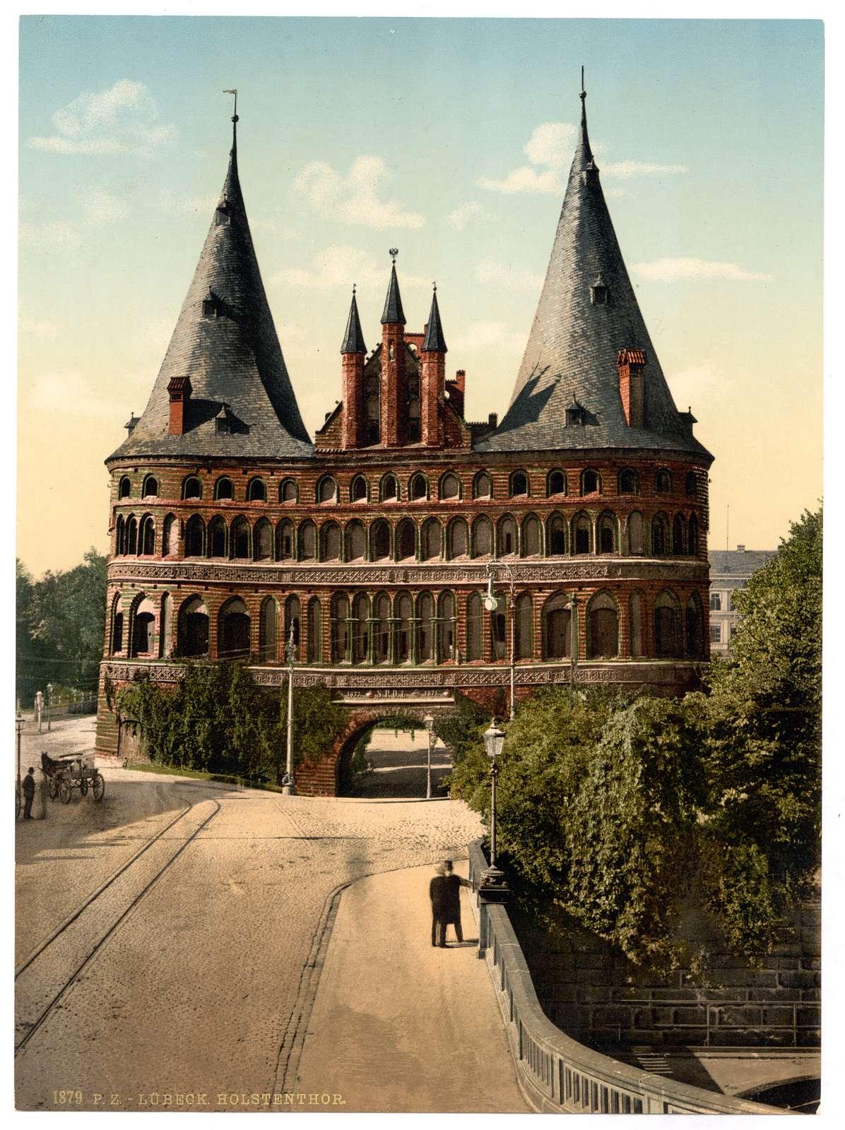 [Holstengate, Lubeck, Germany]