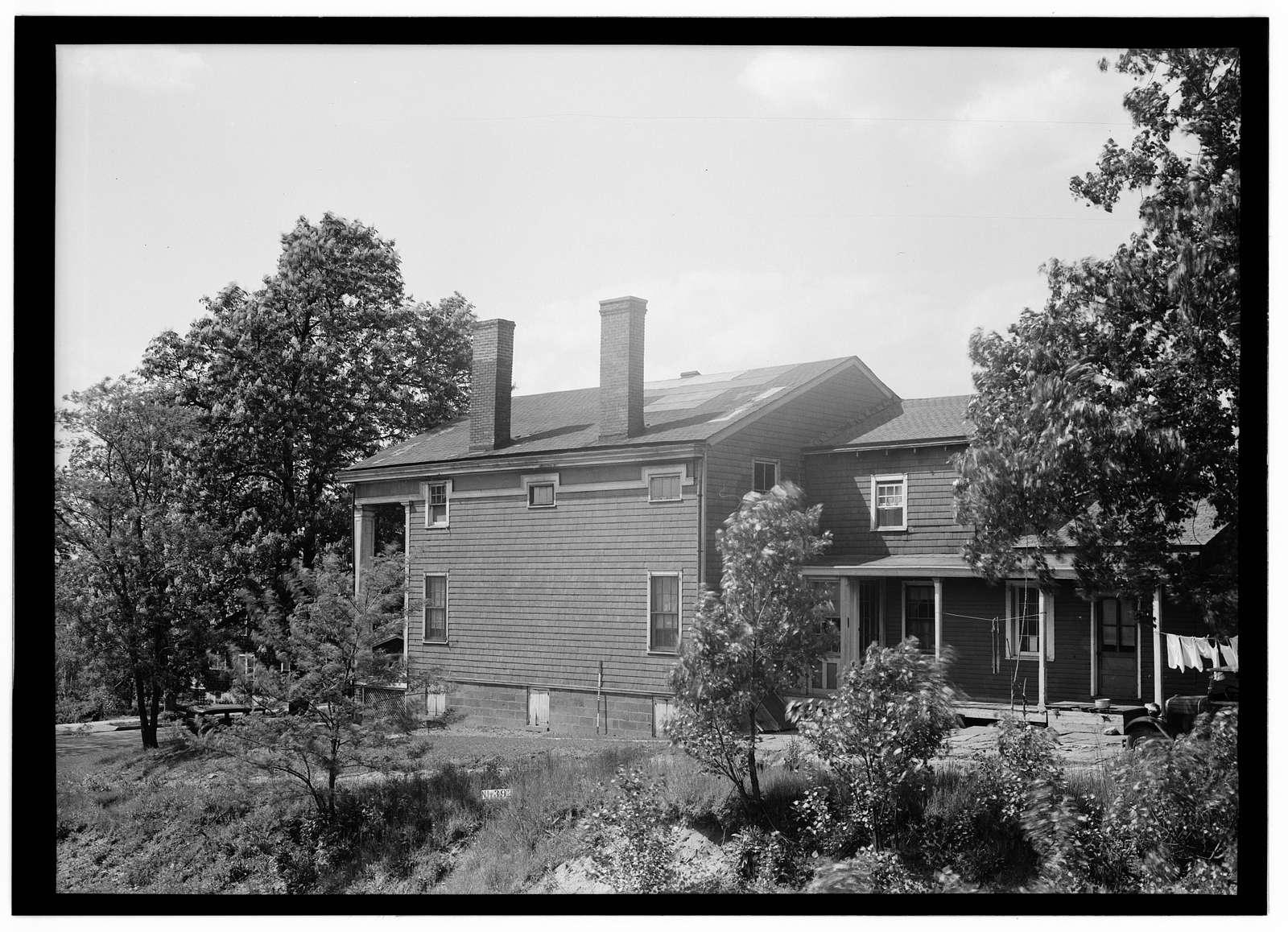 John Van Brunt House, 315 Grand Avenue, Englewood, Bergen County, NJ