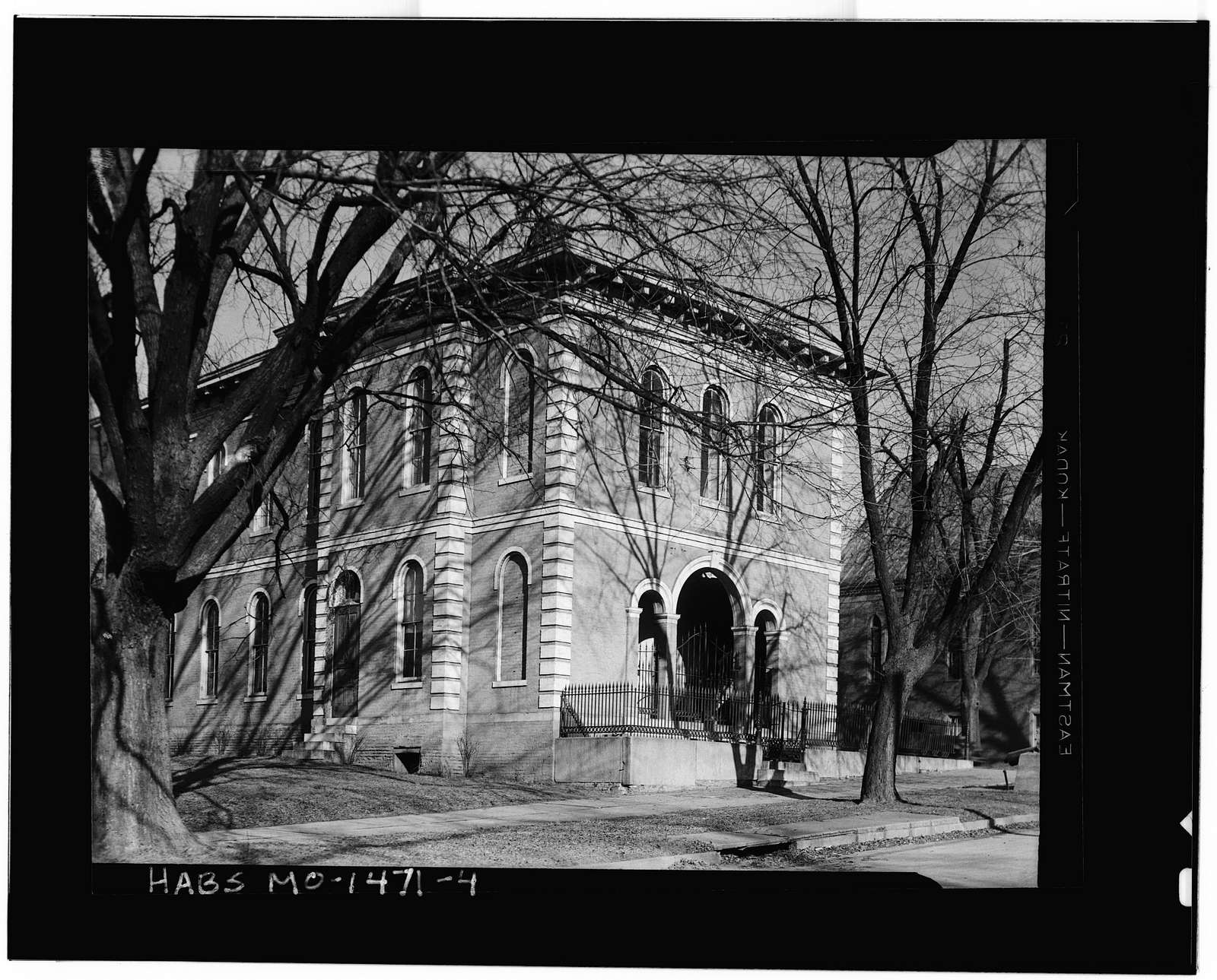 Lewis Library, Glasgow, Howard County, MO