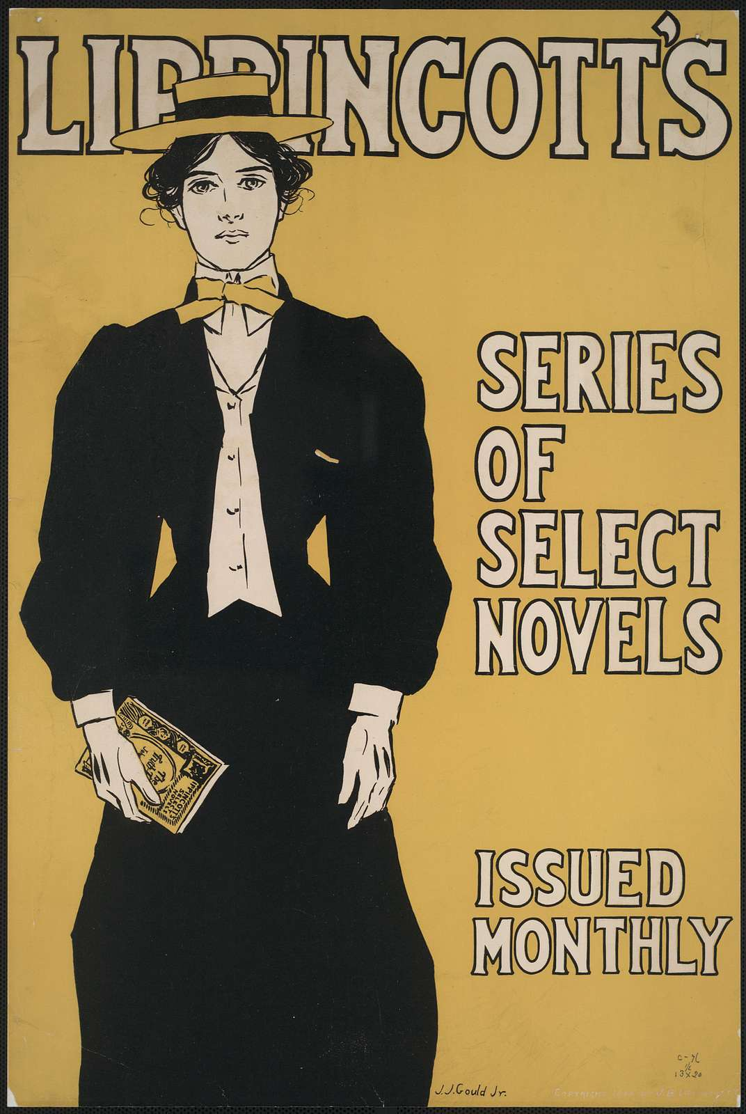 Lippincott's series of select novels, issued monthly / J.J. Gould, Jr.