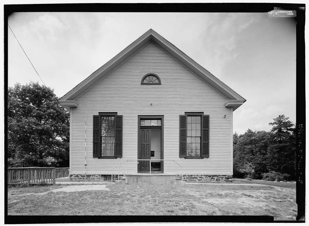 Little Egg Harbor Friends Meeting House, West Main & North Green Streets, Tuckerton, Ocean County, NJ