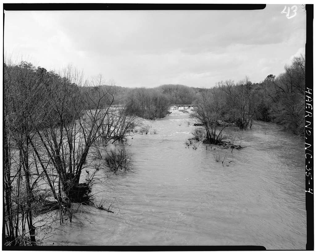 Lockville Hydroelectric Plant, Deep River, 3.5 miles upstream from Haw River, Moncure, Chatham County, NC