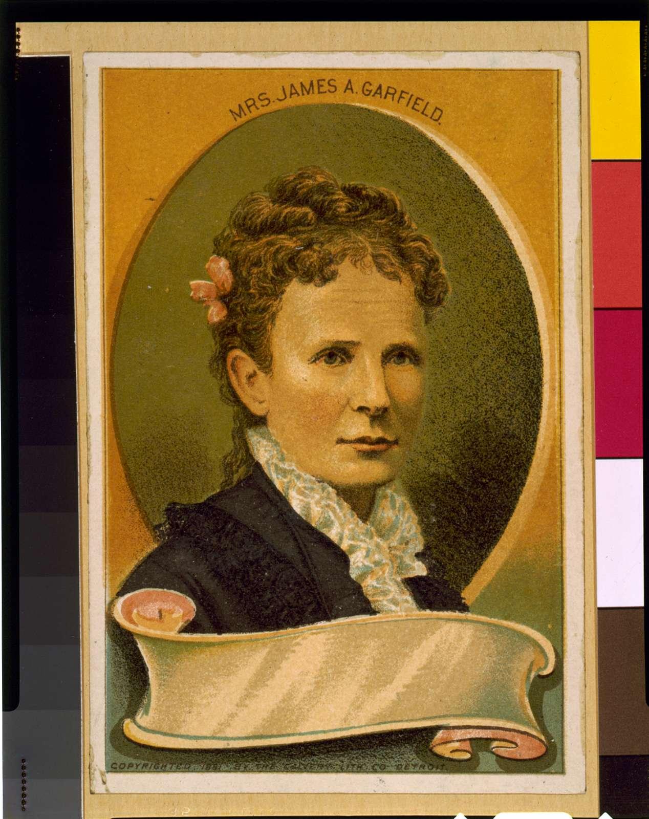 Mrs. James A. Garfield