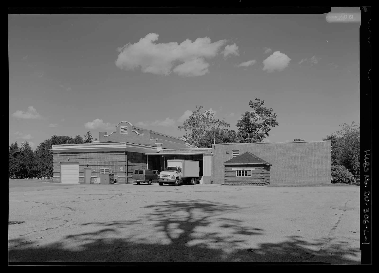 National Home for Disabled Volunteer Soldiers, Marion Branch, Building No. 55, 1700 East 38th Street, Marion, Grant County, IN