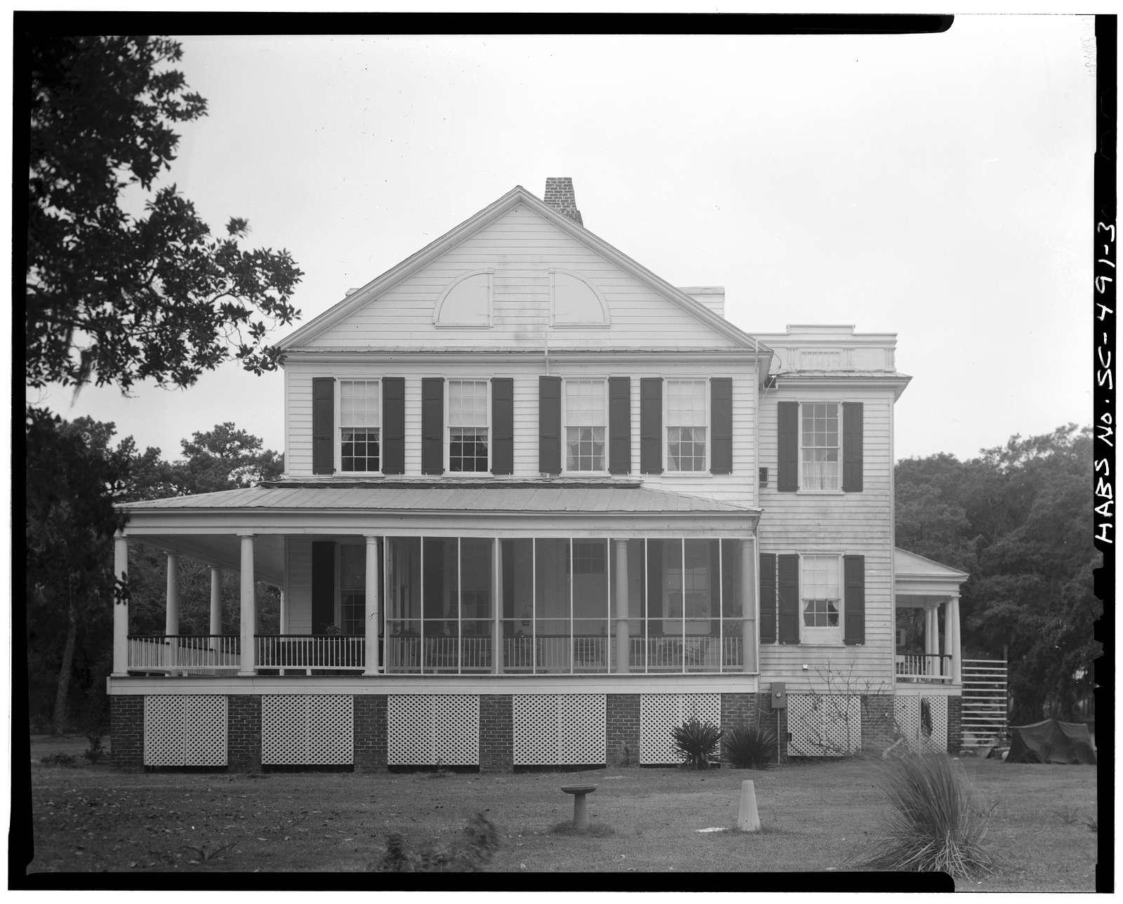Oak Island (House), County Road 768 vicinity, Edisto Island, Charleston County, SC