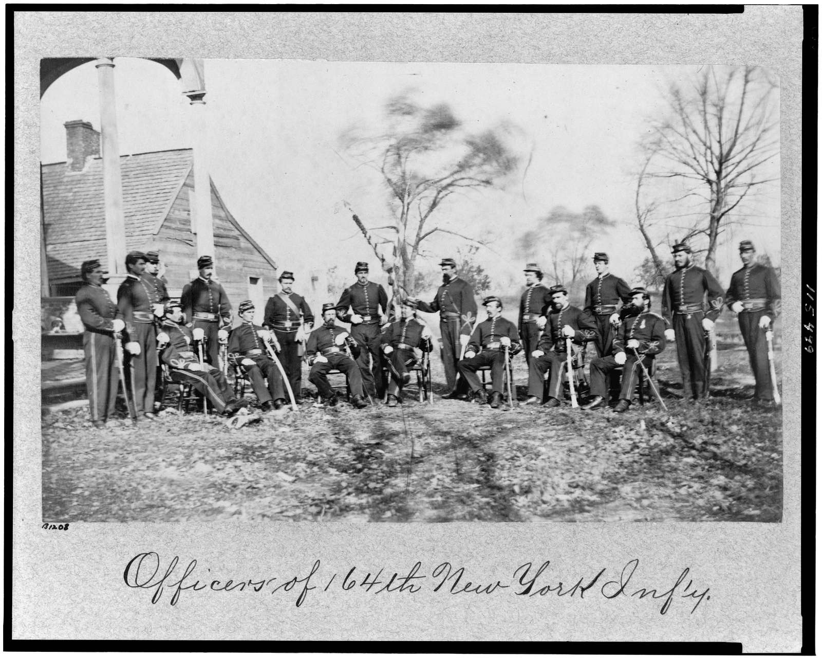 Officers of 164th New York Inf'y [i.e. Infantry]