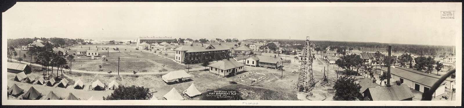 Panorama view, Fort Barrancas, Fla.