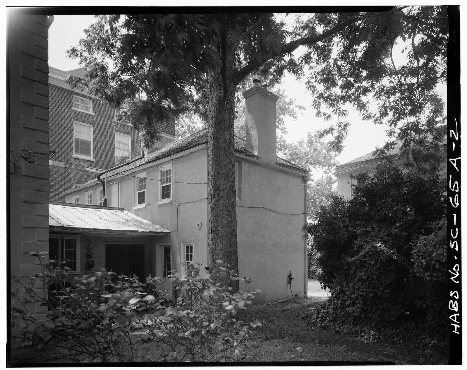 Ralph Izard House, Kitchen Building, 110 Broad Street, Charleston, Charleston County, SC
