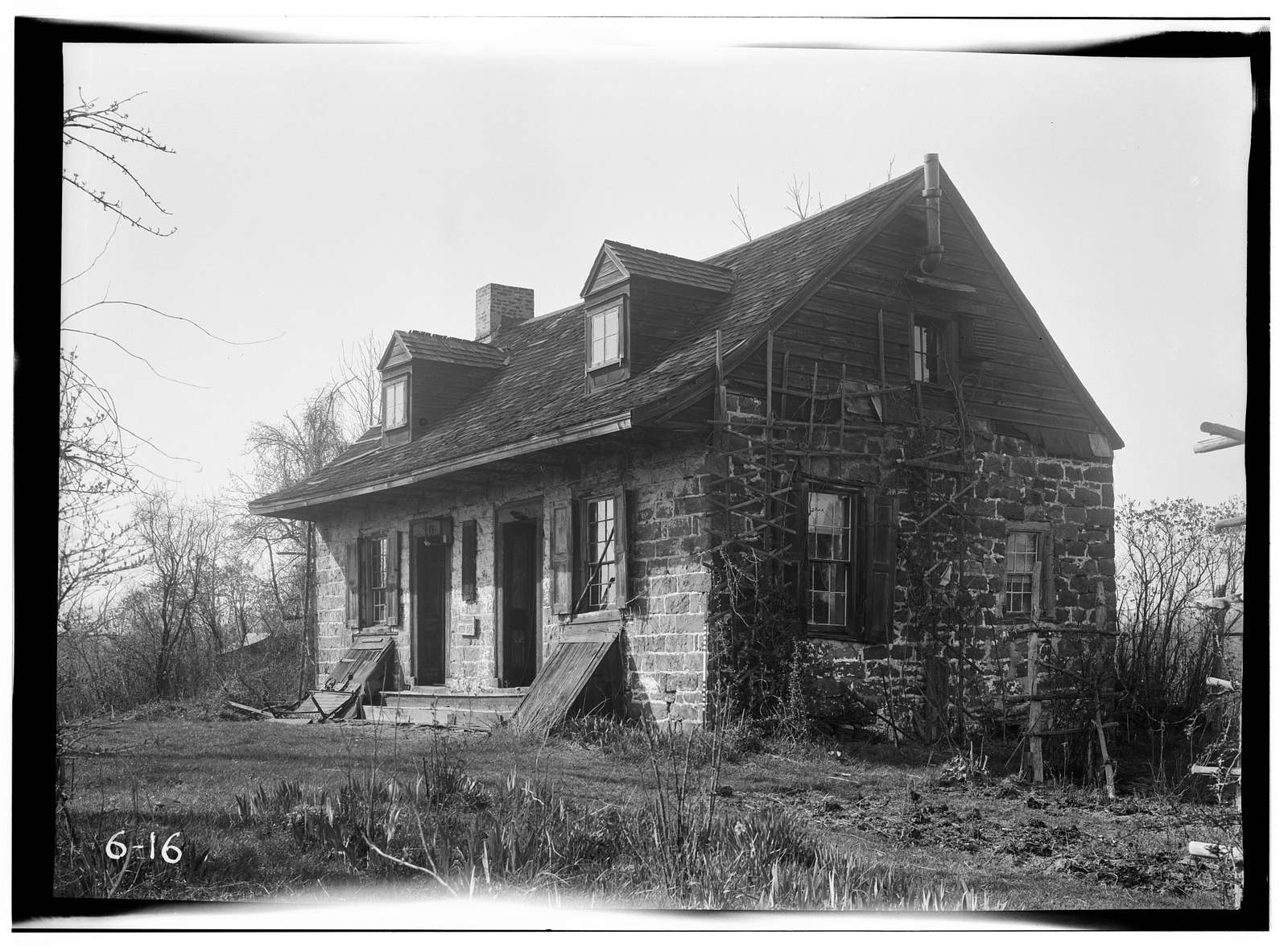 Samuel des Marest House, River Road, New Milford, Bergen County, NJ