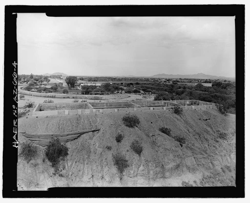 Southern Pacific Railroad Water Settling Reservoir, Yuma Crossing, south bank of Colorado River at foot of Madison Avenue, Yuma, Yuma County, AZ