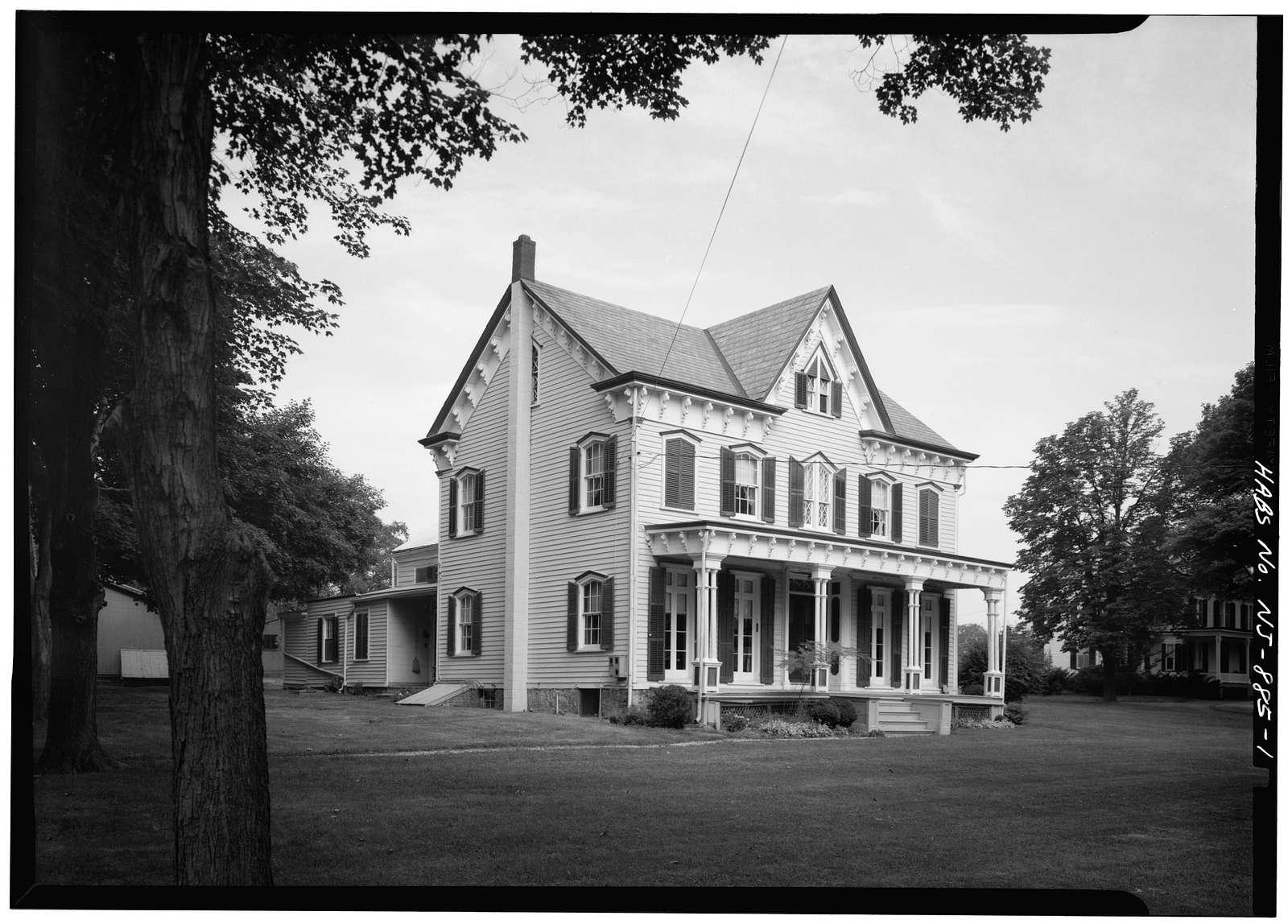 Stryker House, High Street, Oldwick, Hunterdon County, NJ