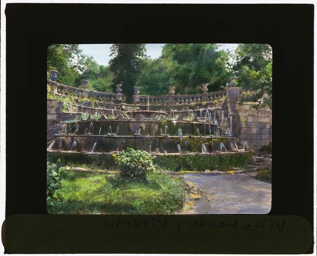 [Villa Lante, Bagnaia, Lazio, Italy. Fountain of the Table]