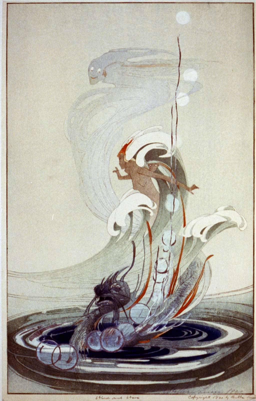 Wind and wave / Bertha Lum