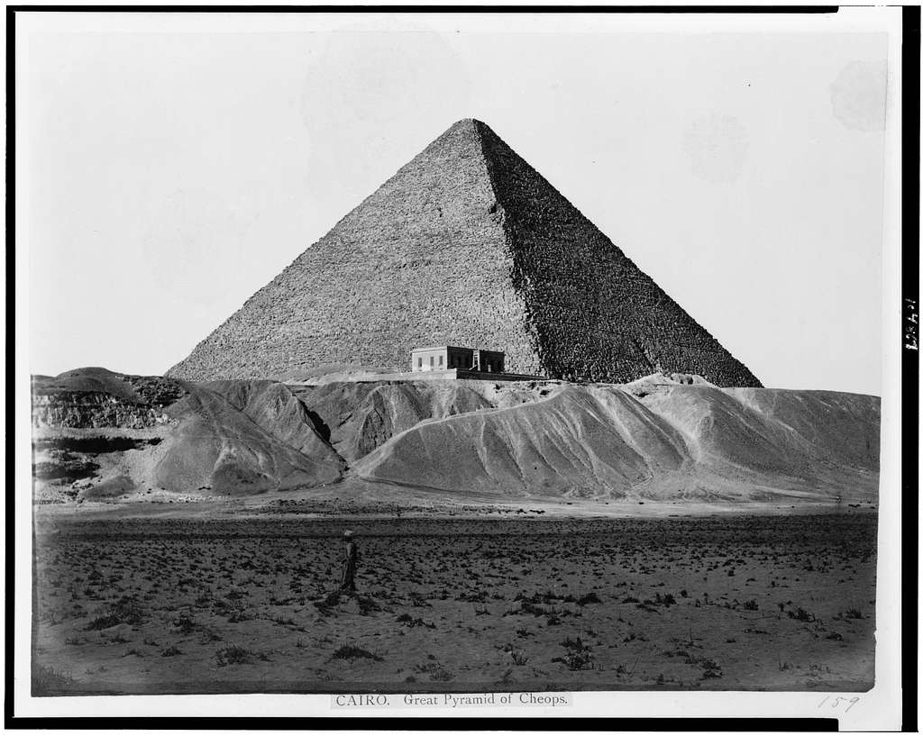 Cairo. Great Pyramid of Cheops