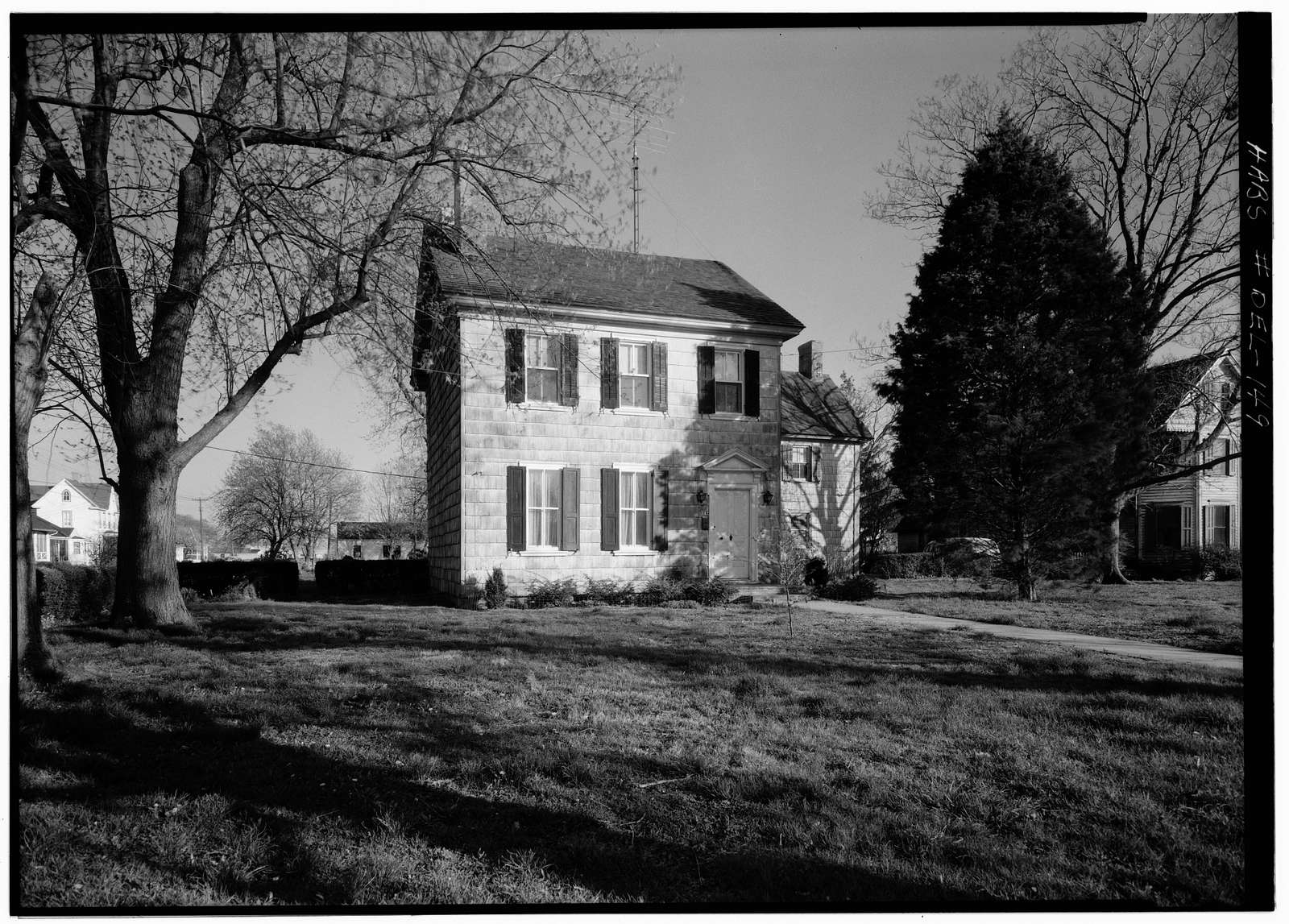 Colonel David Hall House, 107 Kings Highway, Lewes, Sussex County, DE