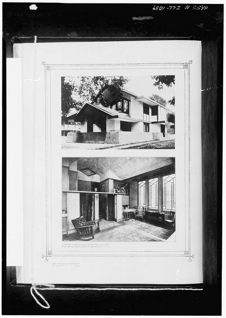 Hurd Comstock House No. 2, 1631 Ashland Avenue, Evanston, Cook County, IL