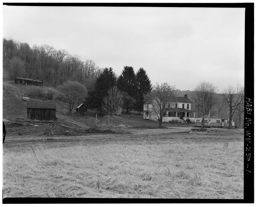 Jacob Crow Farm, Crow Creek Road, 1 mile south of intersection of Routes 15 & 28, Cameron, Marshall County, WV