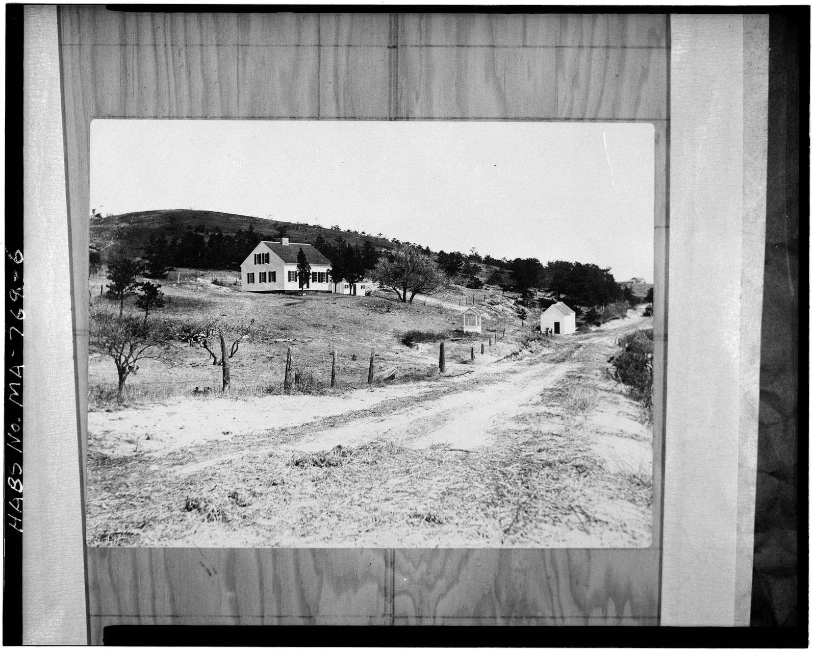 Joshua Snow House, North Pamet Road, Truro, Barnstable County, MA