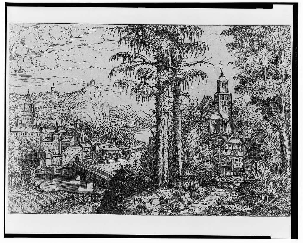 [Landscape with church] / HSL.