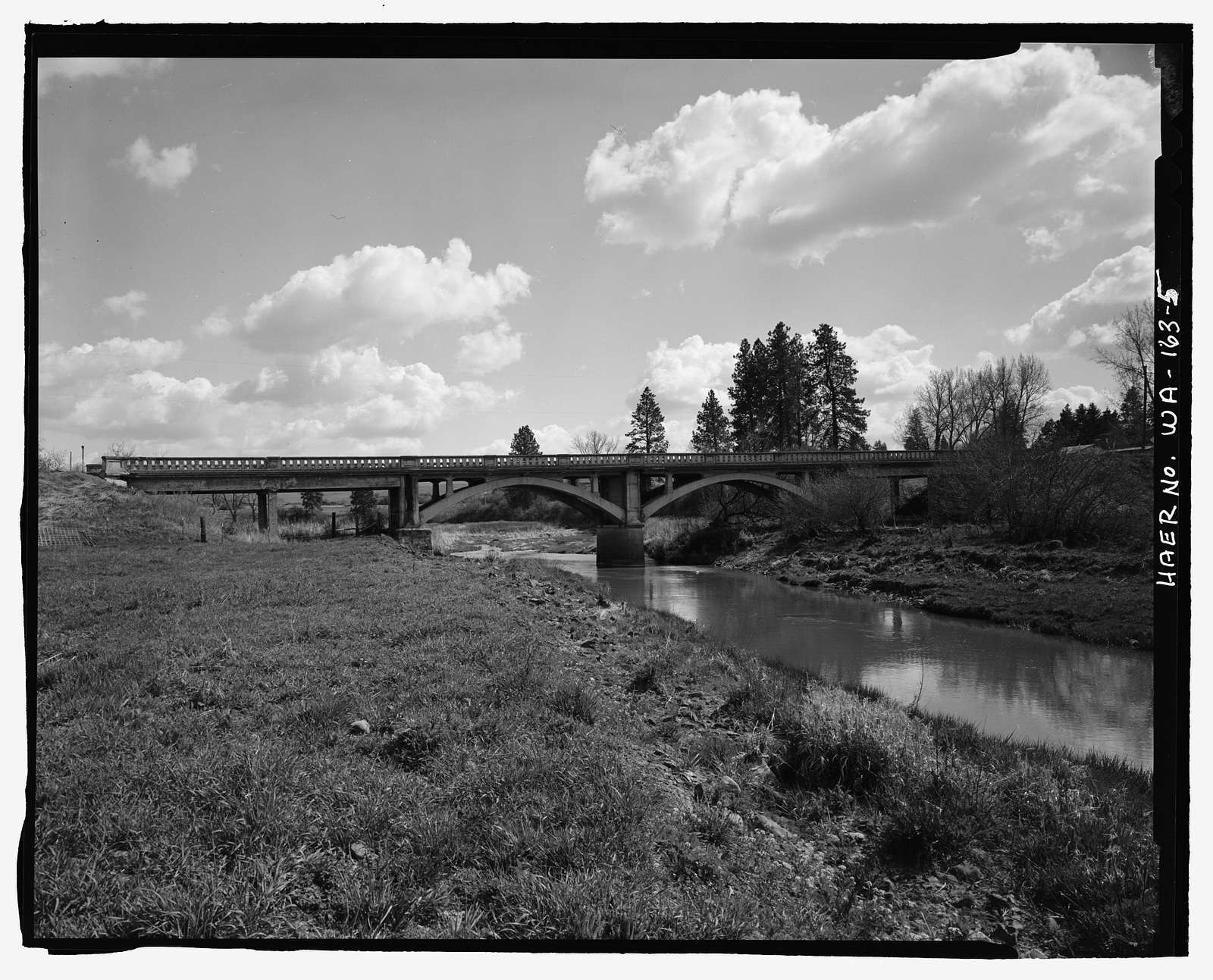Latah Creek Bridge No. 4102, Prairie View Road, Waverly, Spokane County, WA