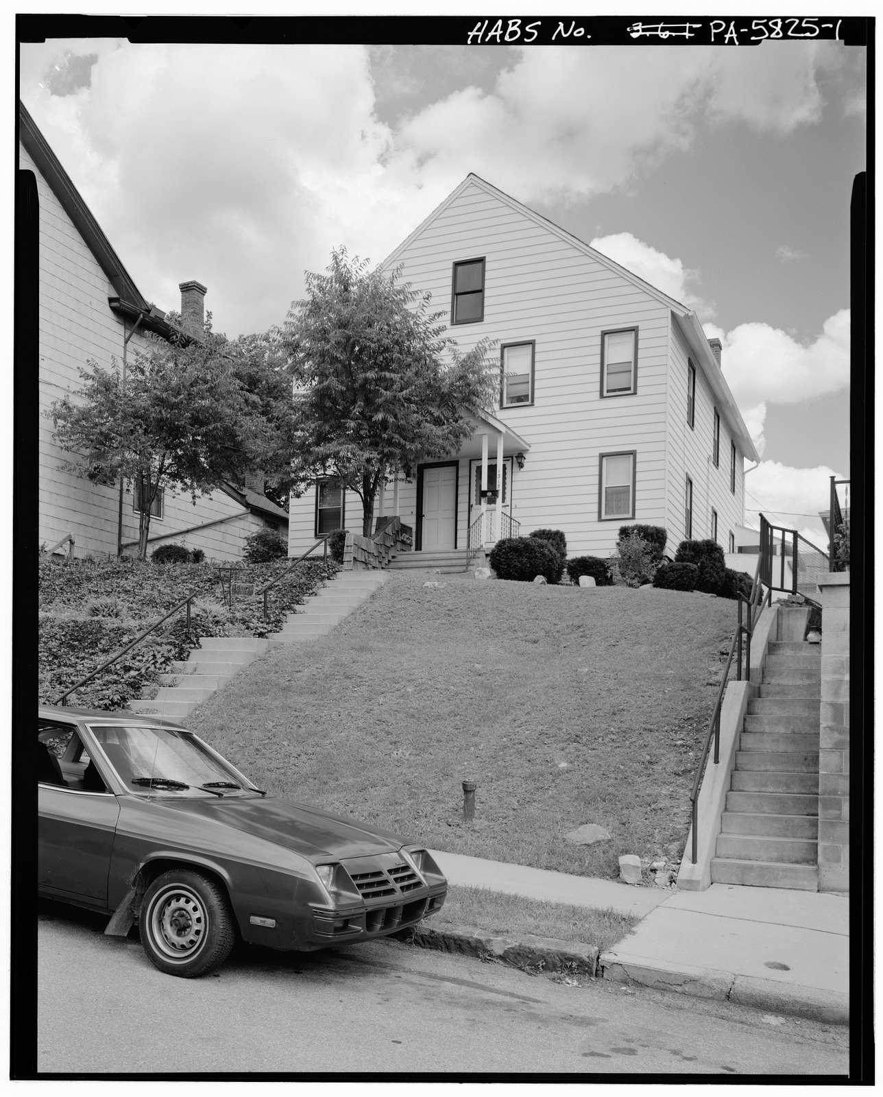Maennerchor Singing Society Hall, 1313-1315 Second Avenue, Altoona, Blair County, PA